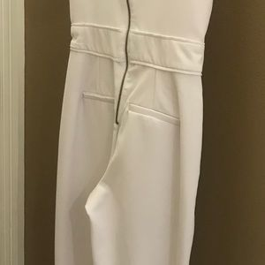 White sleeveless jumpsuit. XOXO Size 0